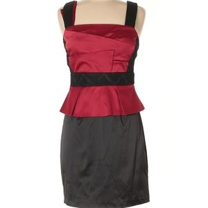 NWOT Stunning XOXO Red & Black Party Dress 9-10